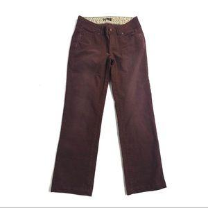 Prana 2 pants canyon organic cotton corduroy